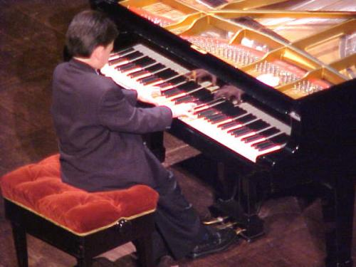 At the National Theater of Costa Rica, July 2005(